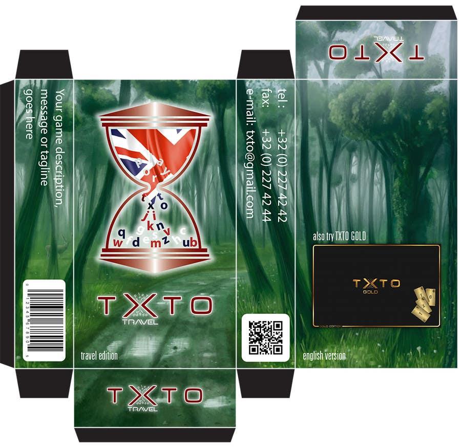 Penyertaan Peraduan #23 untuk English version TXTO Cards Game