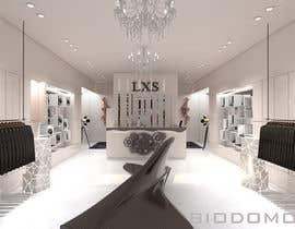 #24 for 3D Modelling layout for luxury retail store. by biodomo