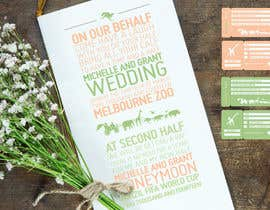 #48 untuk Wedding Invitation and Save the date card oleh kirkwhayman