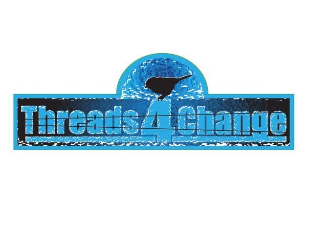 Kilpailutyö #177 kilpailussa Logo Design for Threads4Change