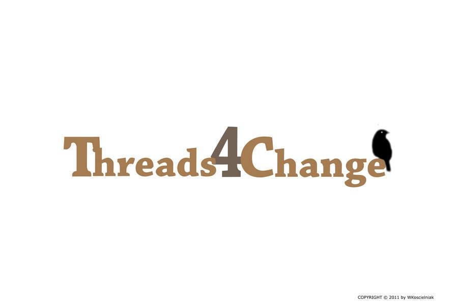 Kilpailutyö #96 kilpailussa Logo Design for Threads4Change