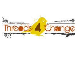 #114 pentru Logo Design for Threads4Change de către Amyzoebites