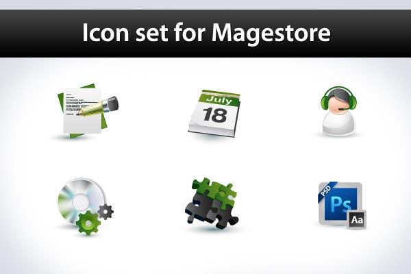 Inscrição nº                                         34                                      do Concurso para                                         Design Icon Set for Magestore (will choose 3 winners)