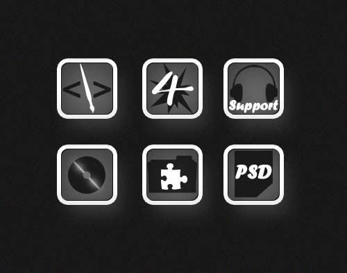 Inscrição nº                                         12                                      do Concurso para                                         Design Icon Set for Magestore (will choose 3 winners)