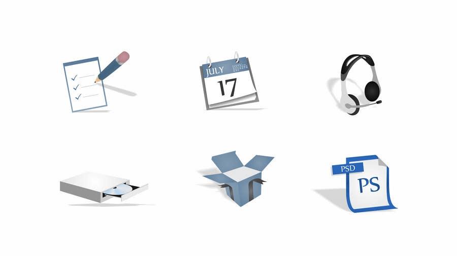 Inscrição nº                                         61                                      do Concurso para                                         Design Icon Set for Magestore (will choose 3 winners)