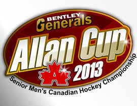 #65 para Logo Design for Allan Cup 2013 Organizing Committee por GreenAndWhite