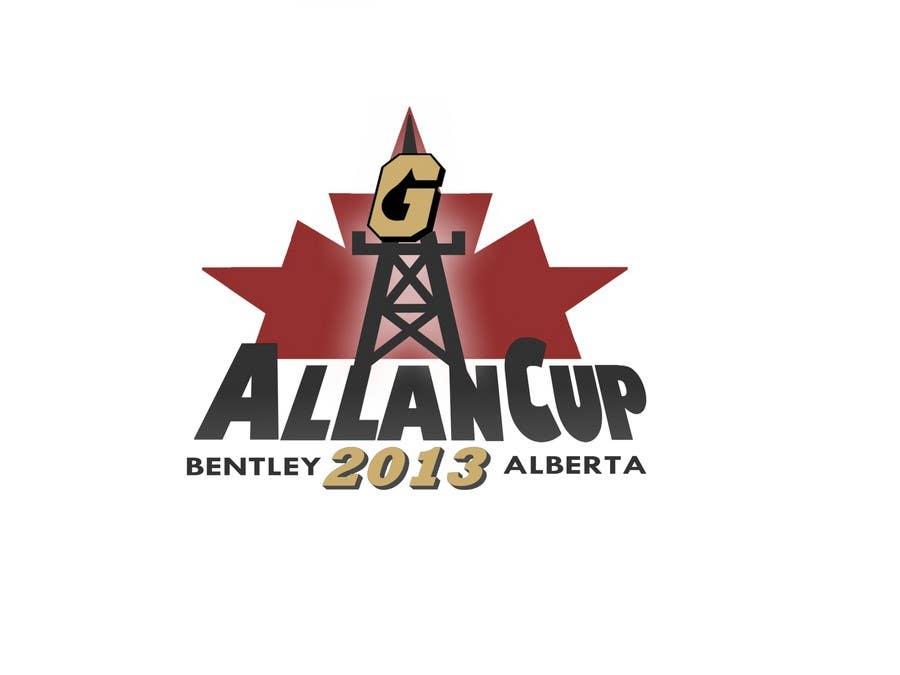 Конкурсная заявка №98 для Logo Design for Allan Cup 2013 Organizing Committee