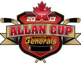 #142 cho Logo Design for Allan Cup 2013 Organizing Committee bởi neriomones