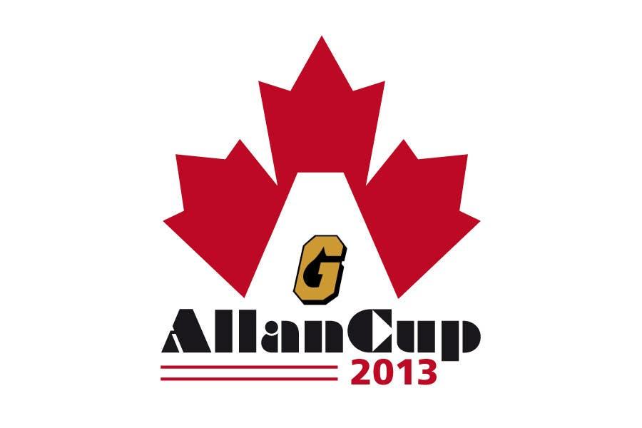 Конкурсная заявка №63 для Logo Design for Allan Cup 2013 Organizing Committee