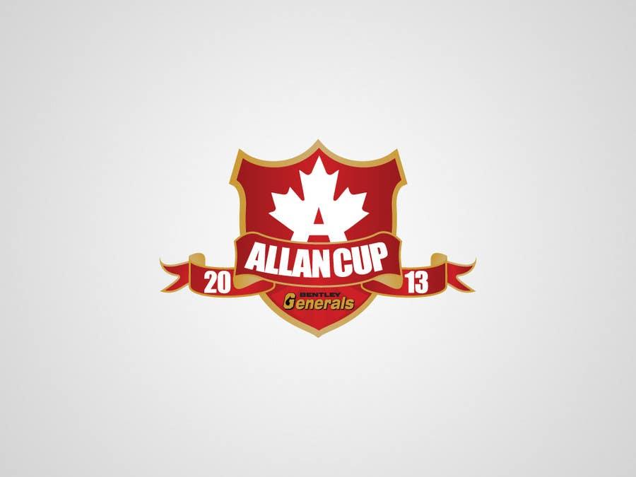 Конкурсная заявка №127 для Logo Design for Allan Cup 2013 Organizing Committee
