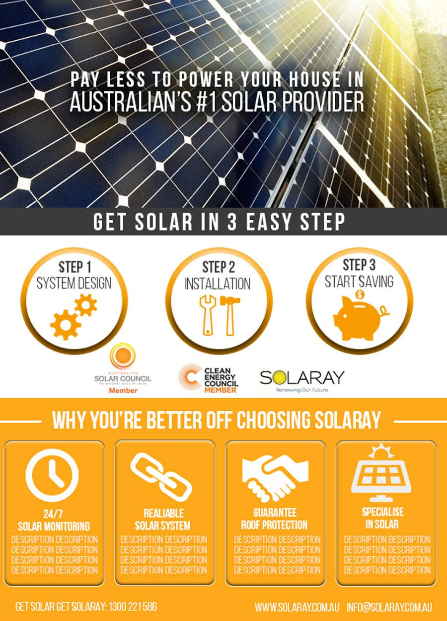 entry 9 by jacklai8033399 for solar sales flyer contest freelancer