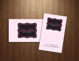 #139 para Business Card Design for Kiss Kiss Desserts por Deedesigns