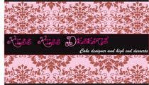 Graphic Design Kilpailutyö #82 kilpailuun Business Card Design for Kiss Kiss Desserts