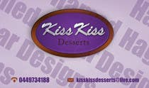Graphic Design Contest Entry #59 for Business Card Design for Kiss Kiss Desserts