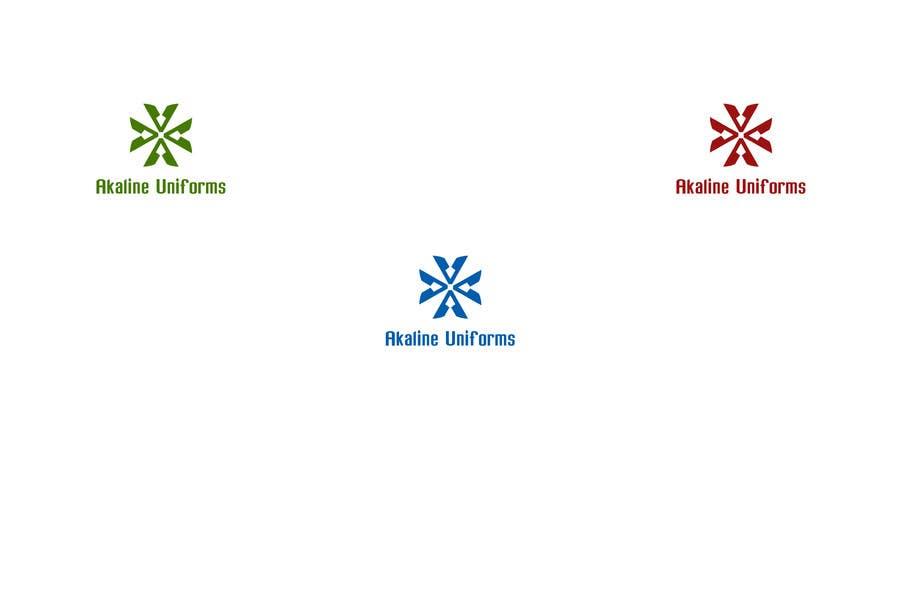 Develop a Corporate Identity for Akaline Uniforms, LLC için 83 numaralı Yarışma Girdisi