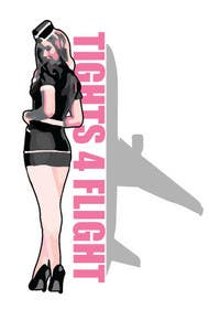 #18 for Design a Logo for Tights 4 Flights by MitchGrafix