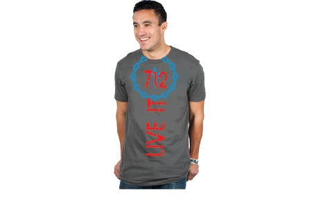 #45 for Live it 712 T-shirt design by mdsalimreza26