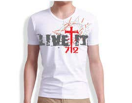 #47 for Live it 712 T-shirt design by watzinglee