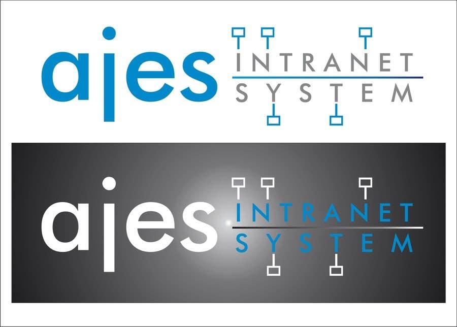 Bài tham dự cuộc thi #                                        26                                      cho                                         Design a Logo for AJES Intranet System