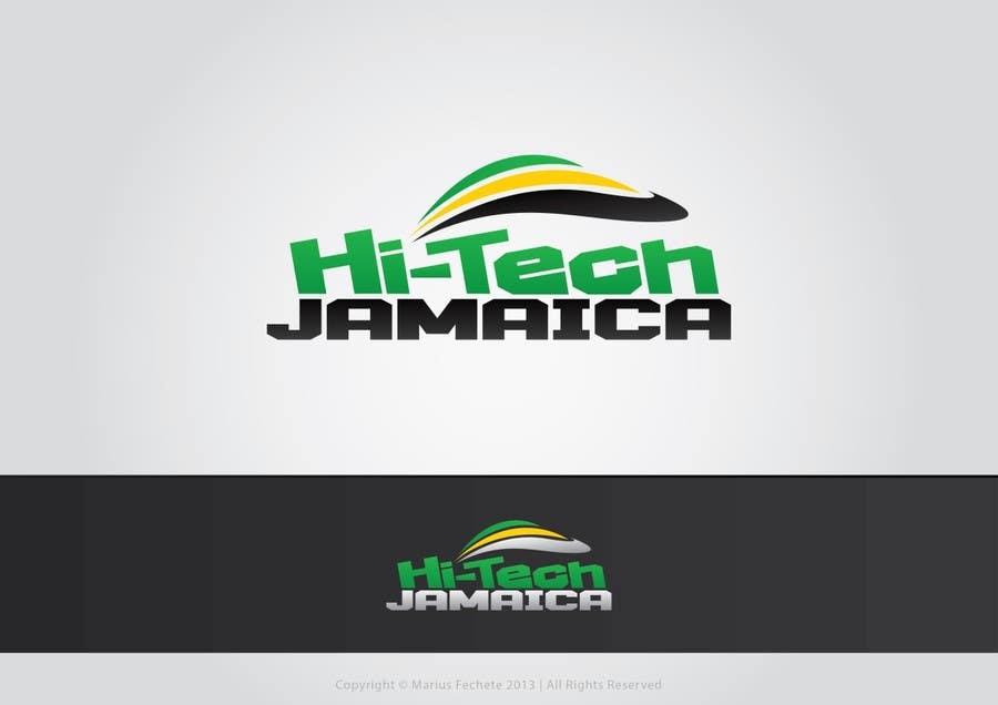 #226 for Logo for Hi-Tech Jamaica by mariusfechete