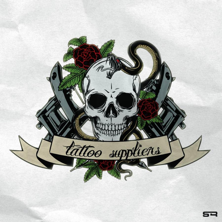 Entry #24 by srdesignmaroc for Design a logo for tattoo shop ...