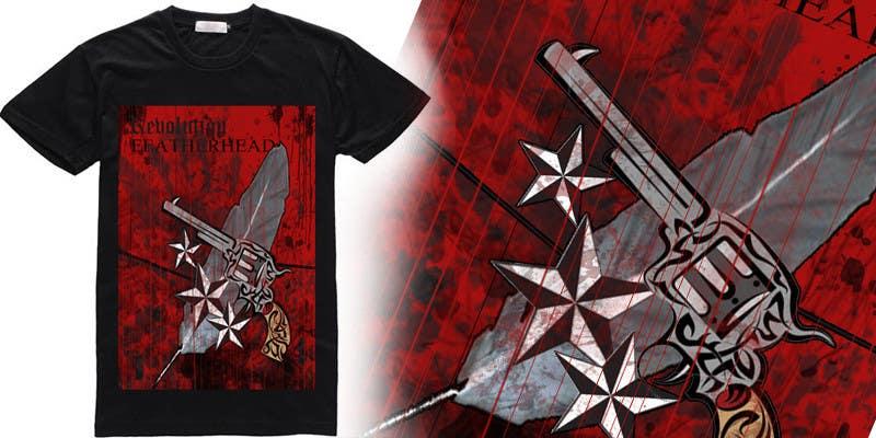 Penyertaan Peraduan #                                        39                                      untuk                                         T-shirt Design for Featherhead