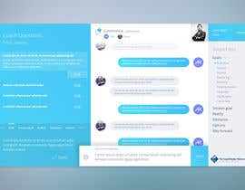 #8 for Design a mockup for a chat system by AmarKasapovic