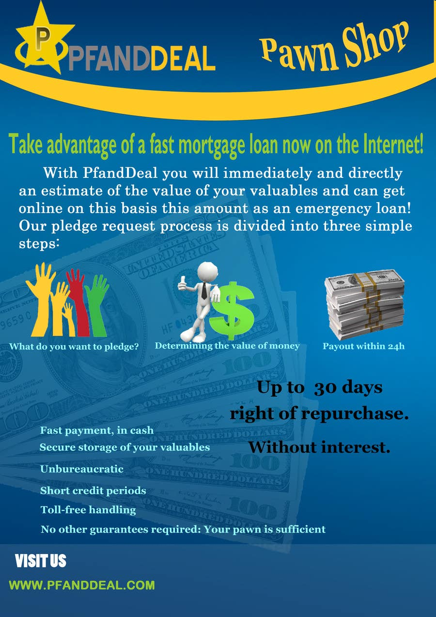 Konkurrenceindlæg #                                        15                                      for                                         PawnShop BusinessFlyer
