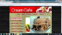 "Bài tham dự #4 về Graphic Design cho cuộc thi Build a Website for ""Cold Cow"" ice cream"