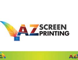 #32 para Design a Logo for Arizona Screen Printing - AZscreenprinting.com por speedpro02