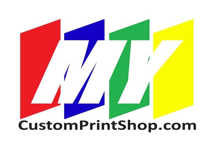 Bài tham dự cuộc thi #69 cho Design a Logo for MyCustomPrintShop.com