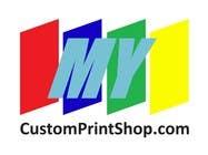 Design a Logo for MyCustomPrintShop.com için Graphic Design72 No.lu Yarışma Girdisi