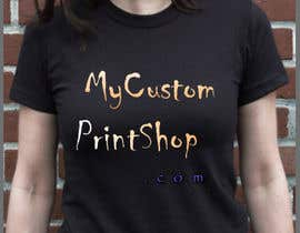 #8 cho Design a Logo for MyCustomPrintShop.com bởi rachel902