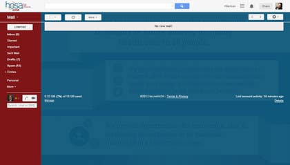 Image of                             Google Email Theme Creation