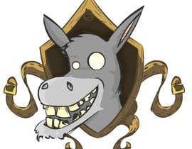 #6 para Party Donkey-Mascot Logo por josefinasereno