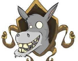 #6 untuk Party Donkey-Mascot Logo oleh josefinasereno