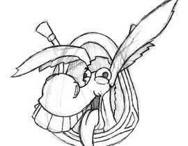 #16 para Party Donkey-Mascot Logo por allentmatthews