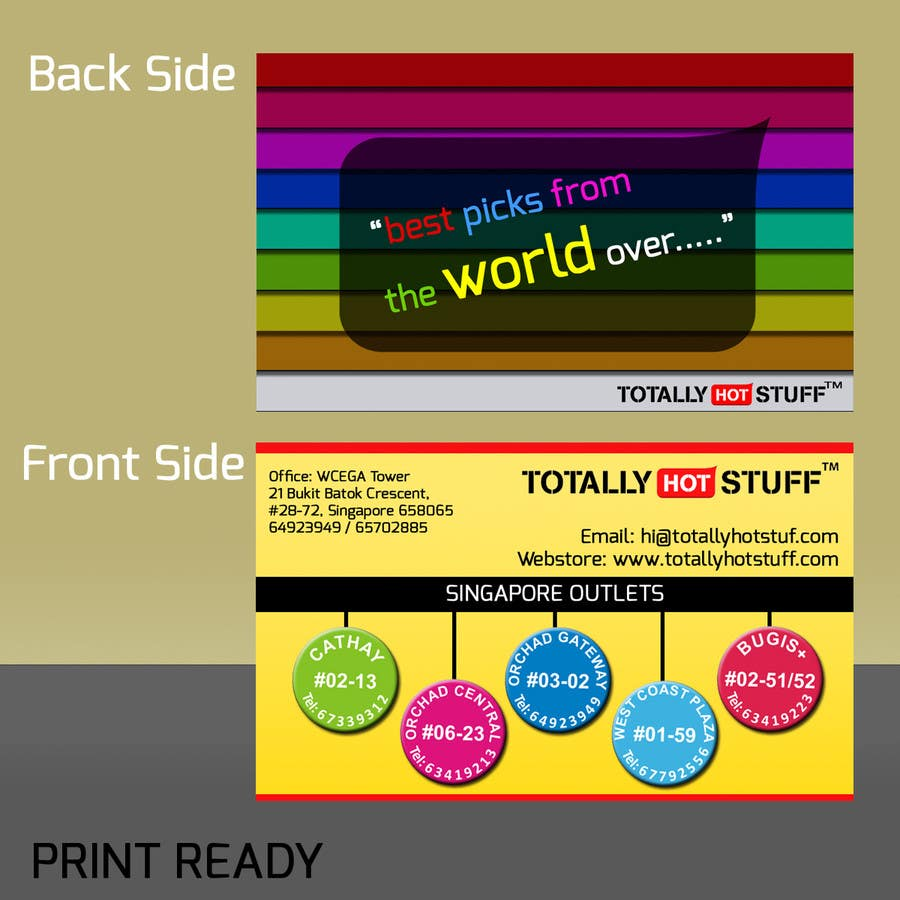 Inscrição nº 63 do Concurso para Design a business card