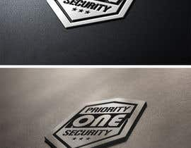 #81 untuk Design a Logo for Priority one security. oleh diptisarkar44