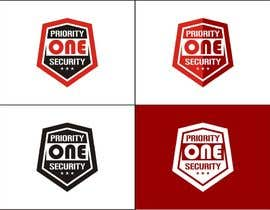 #84 untuk Design a Logo for Priority one security. oleh diptisarkar44