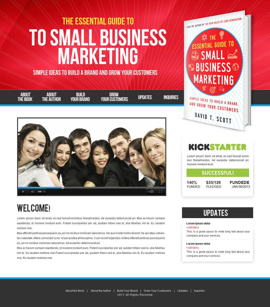 #23 for Build a Website for my new book! by BillWebStudio
