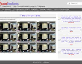 #69 for Build a Website for My Seminar Business by Satriascene
