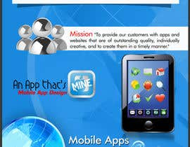#6 for Design a Flyer for Mobile App and Website Developer af gopal556