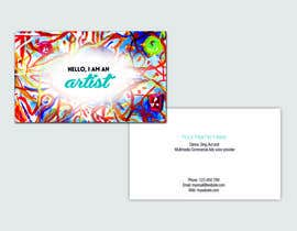 #2 cho Design some Business Cards for an Artist who Sing, Dance, Act, Voice Over, Performing Art bởi murdpower