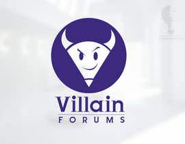 nº 8 pour Design a Logo for Villain Forums par moorvina