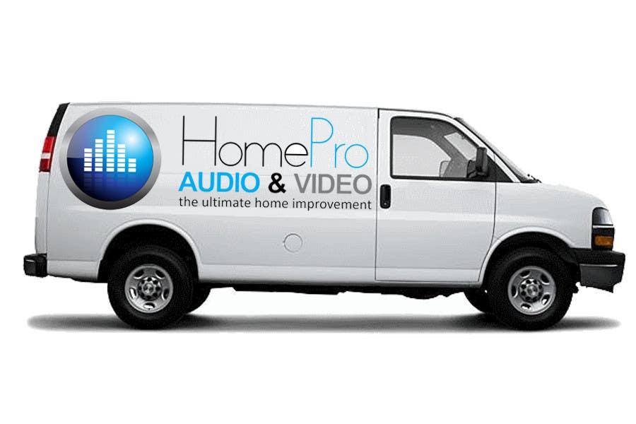 Bài tham dự cuộc thi #                                        294                                      cho                                         Logo Design for HomePro Audio & Video