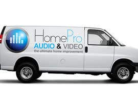 nº 294 pour Logo Design for HomePro Audio & Video par abhishekbandhu