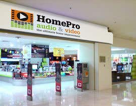 #283 pentru Logo Design for HomePro Audio & Video de către santarellid