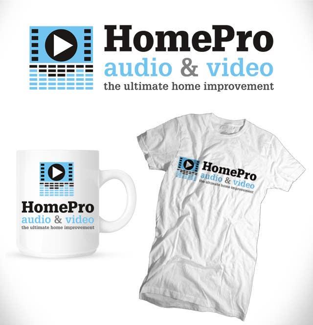 Конкурсная заявка №215 для Logo Design for HomePro Audio & Video