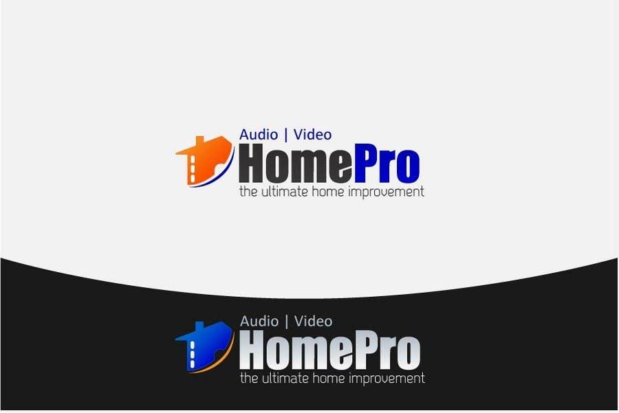 Bài tham dự cuộc thi #                                        235                                      cho                                         Logo Design for HomePro Audio & Video